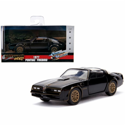 Jada 31061 1977 Pontiac Firebird & Bandit Movie Hollywood Rides Series 1 by 32 Diecast Model Perspective: front