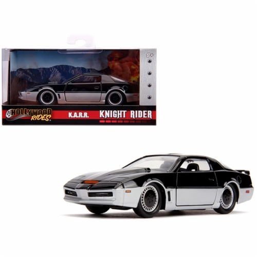 Jada 31116 KARR with Light Knight Rider TV Series Hollywood Rides Series 1 by 32 Diecast Mode Perspective: front