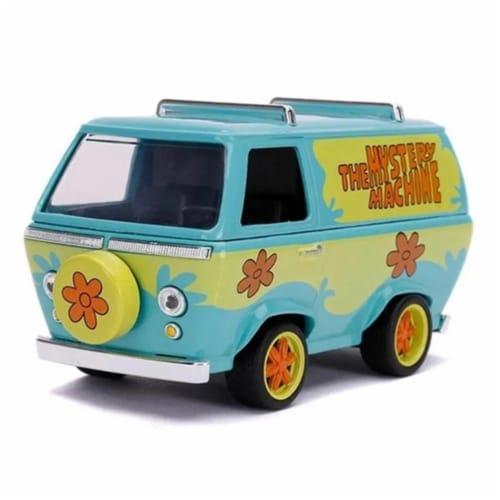 Jada 32040 The Mystery Machine Scooby-Doo 1-32 Diecast Model Car Perspective: front