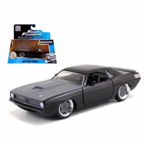 Jada 97206 Lettys Plymouth Barracuda Fast & Furious 7 Movie 1-32 Diecast Model Car Perspective: front