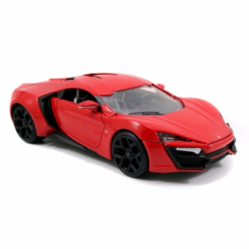 Lykan Hypersport \Fast & Furious 7\ Movie 1/24 Diecast Model Car by Jada Perspective: front