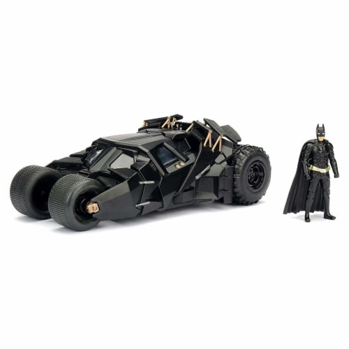 Jada Toys 98261 Batmobile Tumbler Diecast Model Car Perspective: front