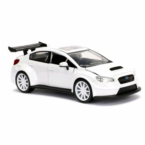 Jada Toys 98296 8 Diecast SUBARU WRX STI Vehicle Model Car Perspective: front