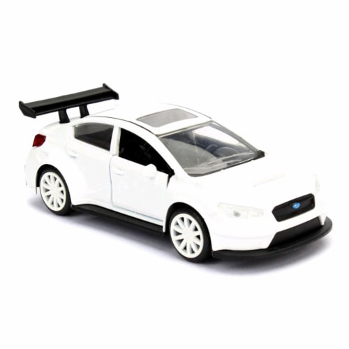 Jada 98305 Mr. Little Nobodys Subaru WRX STI Fast & Furious F8, 1 by 32 Diecast Model Car Perspective: front
