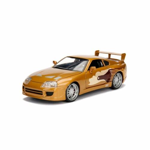 Jada Toys JAD99540 Slap Jacks Toyota Supra - 2 Fast 2 Furious for 2003 Perspective: front
