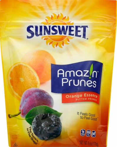 Sunsweet Orange Essence Prunes Perspective: front