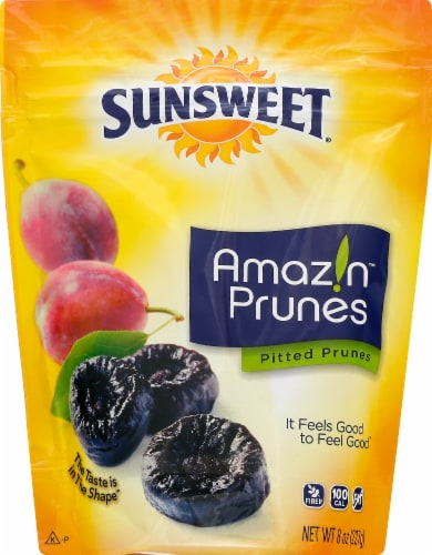 Sunsweet Amaz!n Pitted Prunes Perspective: front