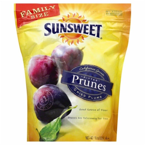 Sunsweet Pitted Prunes Perspective: front