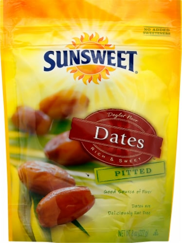 Sunsweet Pitted Dates Perspective: front