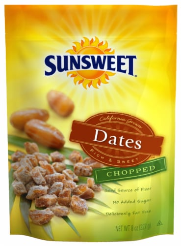 Sunsweet Chopped Dates Perspective: front
