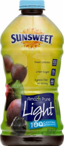 Sunsweet Light Amazing Prune Juice Perspective: front