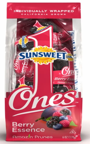 Sunsweet Ones Berry Essence Prunes Perspective: front