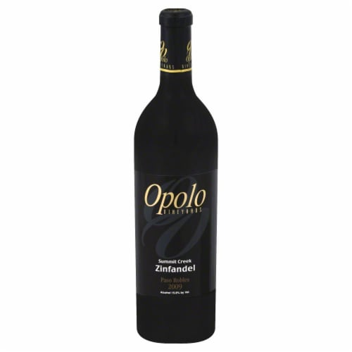Opolo Vineyards Paso Robles Zinfandel Perspective: front