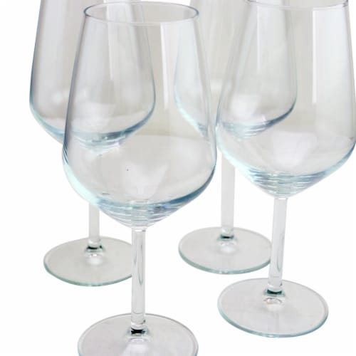 Pasabahce 440065-1046746 Allegra 16.5 oz Wine Glass Set - Red - 4 Piece Perspective: front