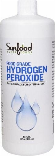 Sunfood Food Grade Hydrogen Peroxide Perspective: front