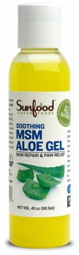 Sunfood MSM Aloe Gel Perspective: front