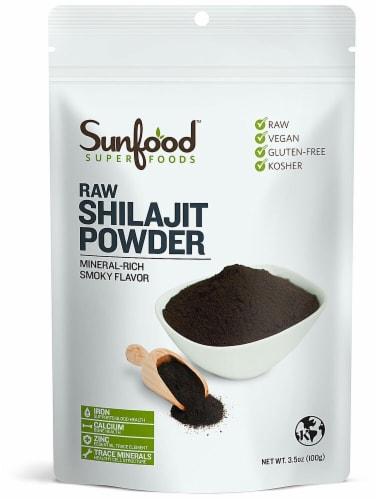 Sunfood Raw Shilajit Powder Perspective: front