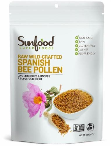Sunfood Superfoods Spanish Bee Pollen Perspective: front