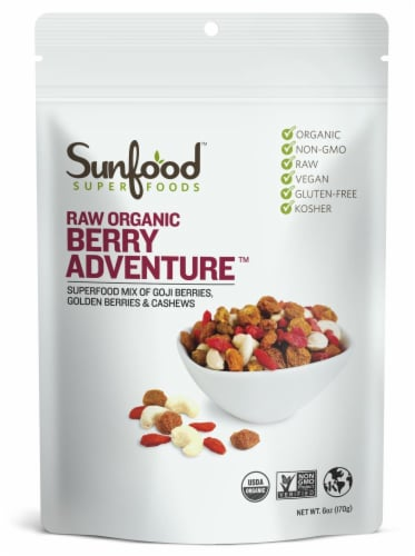 Sunfood Raw Organic Berry Adventure Perspective: front