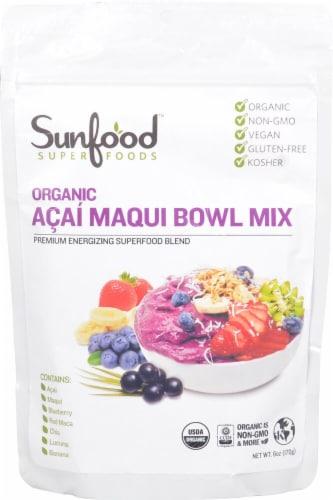 Sunfood Organic Gluten Free Acai Maqui Bowl Mix Perspective: front