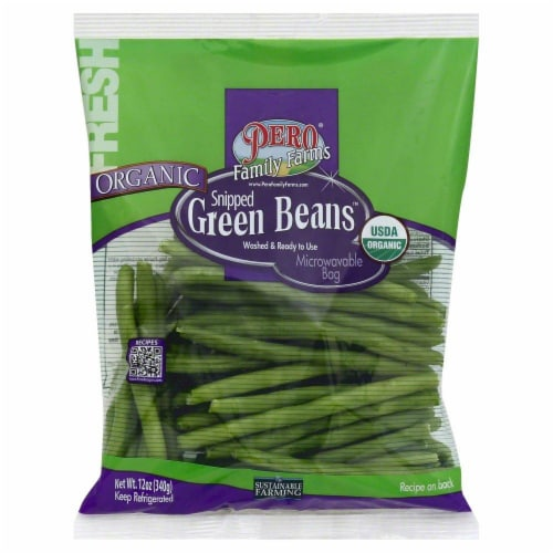 Pero Organic Green Beans Perspective: front