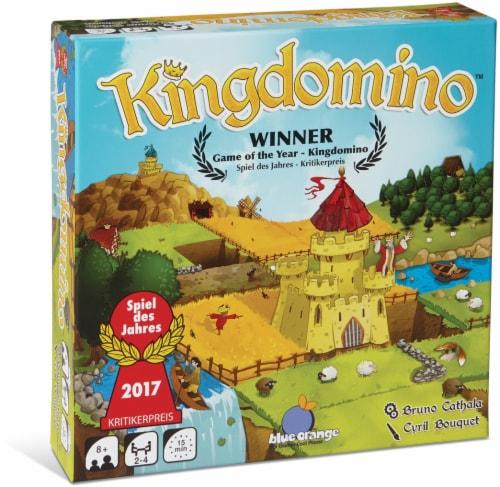 Blue Orange Kingdomino Board Game Perspective: front