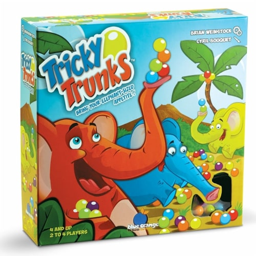 Blue orange BOG04900 Tricky Trunks Game for Kids Perspective: front