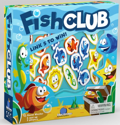 Fish Club Board Game Perspective: front