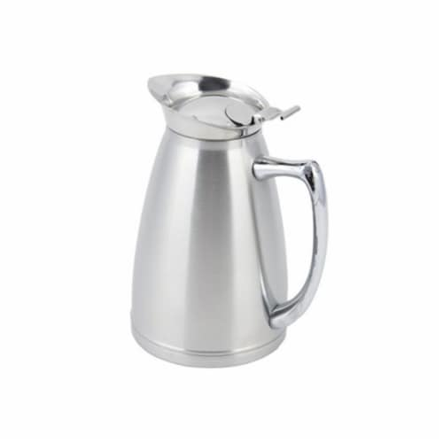 Bon Chef 4050S 10 oz Stainless Steel Insulated Server with No Crest Satin Perspective: front