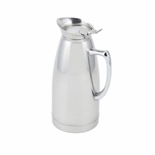Bon Chef 4052 32 oz Stainless Steel Insulated Server with No Crest Perspective: front