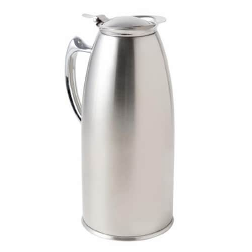 Bon Chef 4054S 48 oz Stainless Steel Insulated Server Satin Perspective: front