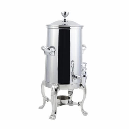 Bon Chef 41001C 2 gal Chrome Plated Urn Stainless Steel Single Wall Perspective: front