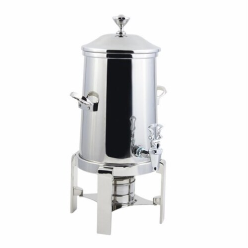 Bon Chef 42101C 2 gal Contemporary Non Insulated Coffee Urn with Chrome Trim Perspective: front