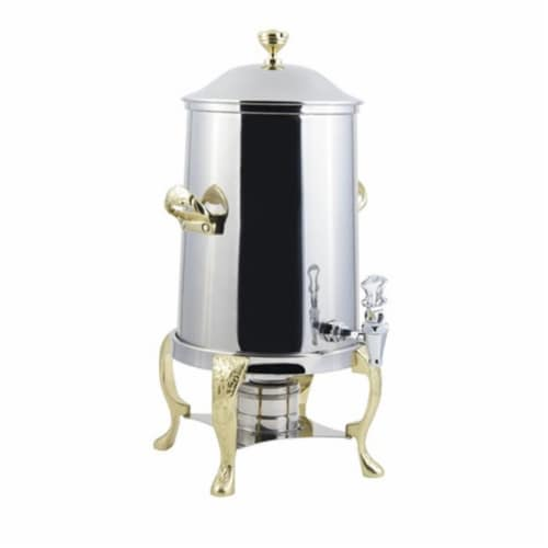 Bon Chef 47101 2 gal Renaissance Insulated Coffee Urn Perspective: front