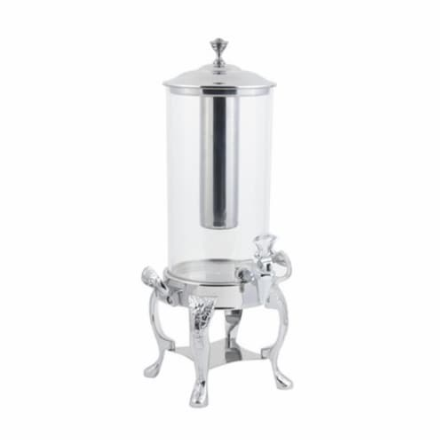 Bon Chef 47500CH 12 in. dia. Chrome Renaissance Juice Dispenser, 2 gal Perspective: front