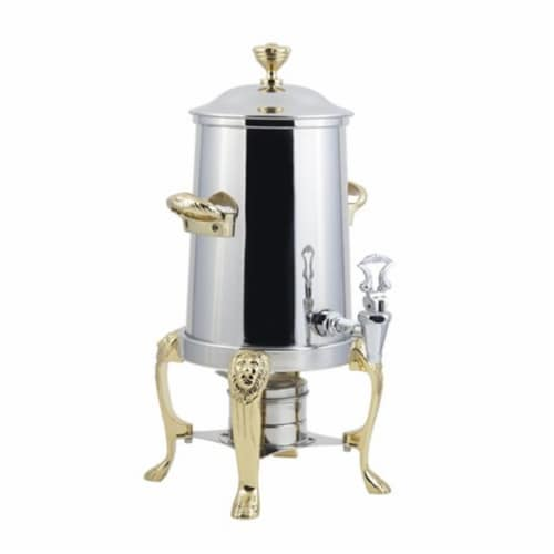 Bon Chef 48101 2 gal Lion Insulated Coffee Urn Perspective: front