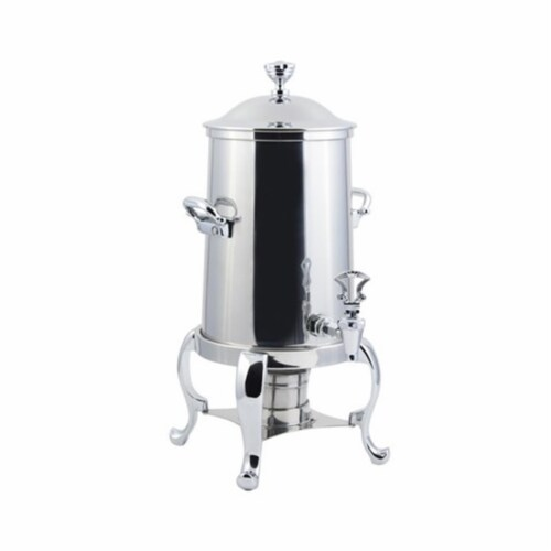 Bon Chef 49103C 3.50 gal Roman Non Insulated Urn, Chrome Perspective: front