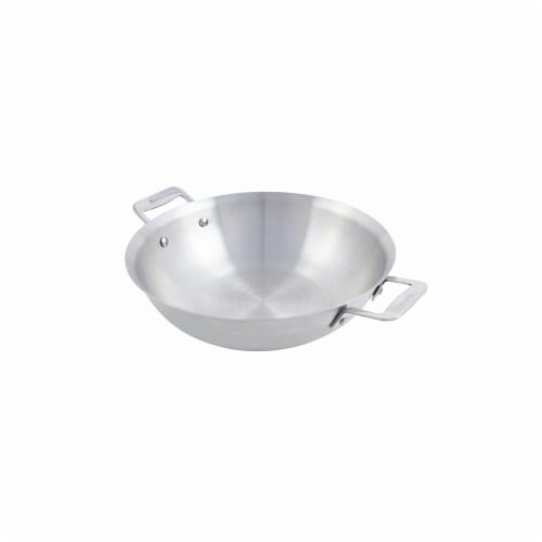Bon Chef 10.87 in. Cucina Stir Fry Pan with 2 Side Handles & Induction Bottom, 2.5qt Perspective: front