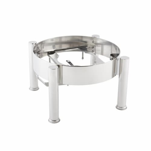 Bon Chef 20310ST Stand Only Induction Chafer, 14.62 x 14.87 x 9.25 in. Perspective: front