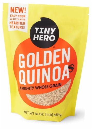 Tiny Hero Golden Quinoa Perspective: front