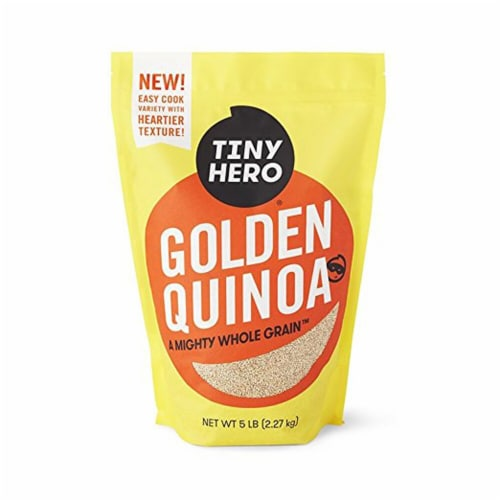 Tiny Hero Golden Quinoa Perspective: front