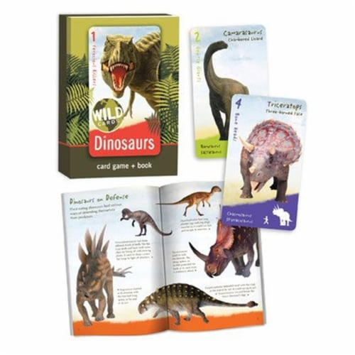 Bird Cage Press Wild Cards, Dinosaurs Perspective: front