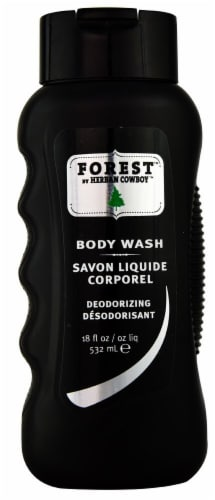 Herban Cowboy  Body Wash  Forest Perspective: front