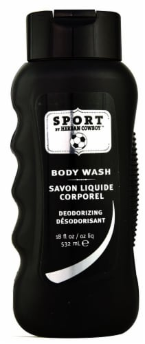 Herban Cowboy  Body Wash  Sport Perspective: front