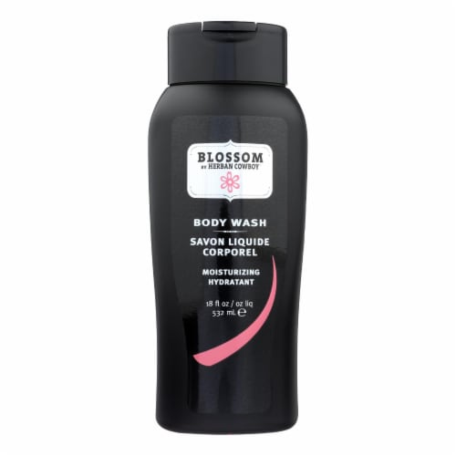 Herban Cowboy Blossom Body Wash Perspective: front