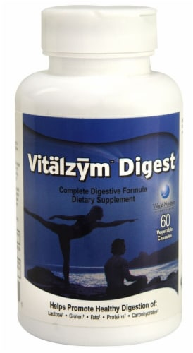 World Nutrition  Vitalzym™ Digest Perspective: front