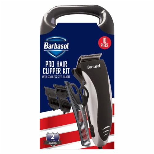 Barbasol CBH1-4002-SLV Pro Hair Clipper Kit Perspective: front