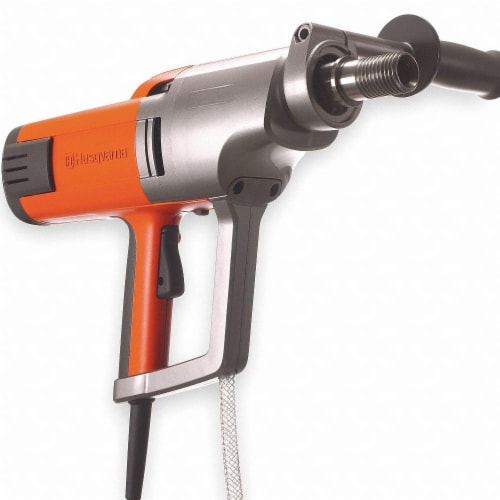 Husqvarna Handheld Coring Drill,2.3 hp,2,900 RPM  DM230 Perspective: front