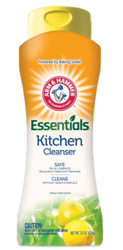 Arm & Hammer Kitchen Cleanser Perspective: front
