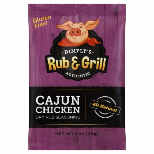 Dimply's Rub & Grill Cajun Chicken Perspective: front